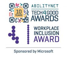 Tech4Good Awards Workplace Inclusion category nominee